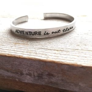Adventure is out there Bracelet
